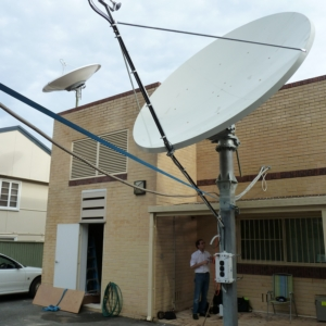 Prodelin 1385 3.8m Ku Band Satellite Dish