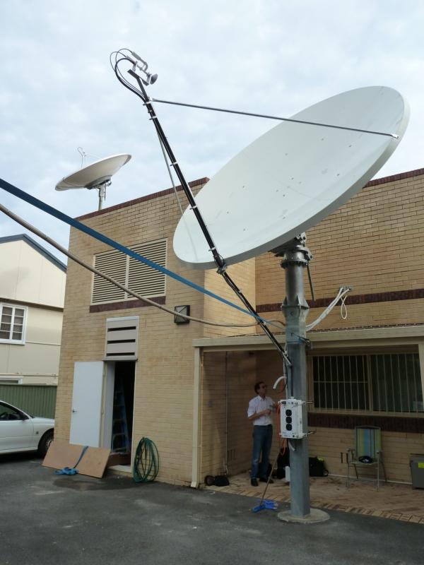 Prodelin 1385 3.8m Ku Band Satellite Dish