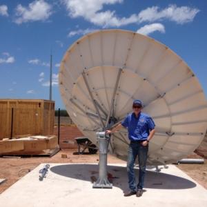 Prodelin 1374 3.7m Satellite Dish
