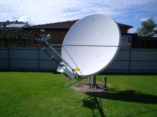 GD Satcom 2.4m 2244 High Wind Satellite Dish