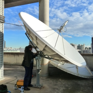 Prodelin 1304 3m C Band Satellite Dish