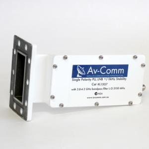 Av-Comm C Band 5G Filtered LNB PLL 3.8-4.2GHz +/-5kHz