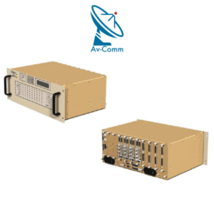 Comtech CRS Series-300 1_10 Modem Redundancy Switch Front and Rear Panel