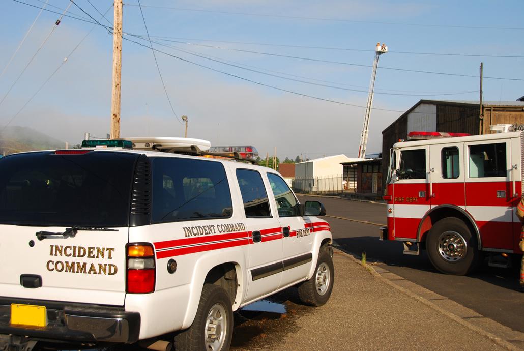 Kymeta Fire Rescue