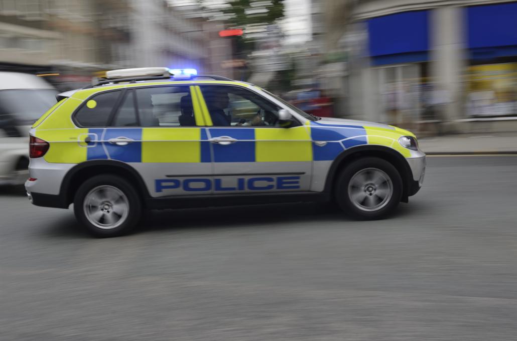 kymeta Police Car