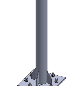 Baird pedestal mount