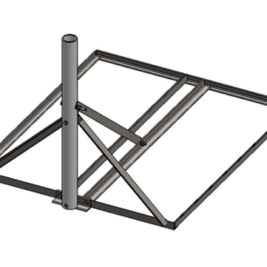 """Baird B3-34 x 40 Non-Pentrating mount with 1.31"""" OD mast"""