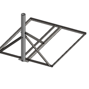 Baird B3-34 x 40 Non-Pentrating mount 2.37 OD mast