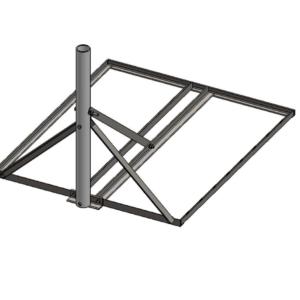 Baird B3-34 x 40 Non-Pentrating mount 2.88 OD mast