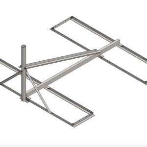 Baird B4-6X6, 2.37 OD Ka Band Non-Penetrating mount