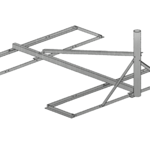 Baird B4-6X6, 2.37 OD Non-Pentrating mount