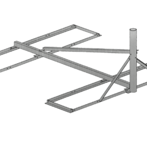 Baird B4-6X6, 2.88 OD Non-Pentrating mount