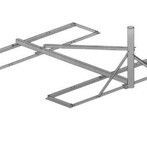 Baird B4-6X6, 3.00 OD Non-Pentrating mount