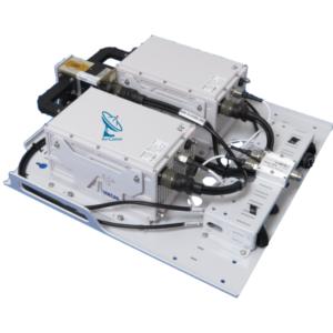 Amkom Advanced 16W to 125W Ku or DBS Band BUC Redundancy System Kit v2