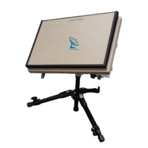 ThinKom ThinPack Portable Flat Panel Satellite Antenna for X, Ku, & Ka Band Tripod v2