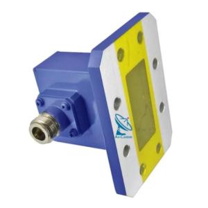 AST Microwave Waveguide to Coax Adaptor Big