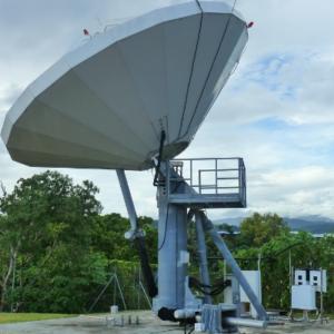 CPI SAT 7.3m Cassegrain Satellite Earth Station Antenna