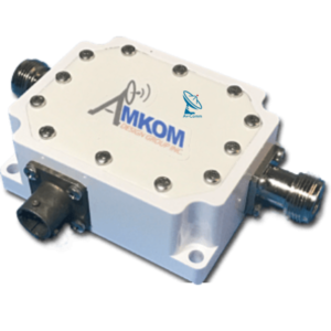Amkom Outdoor BIAS Tee for BUC or LNB with N Type Connector Interface v2