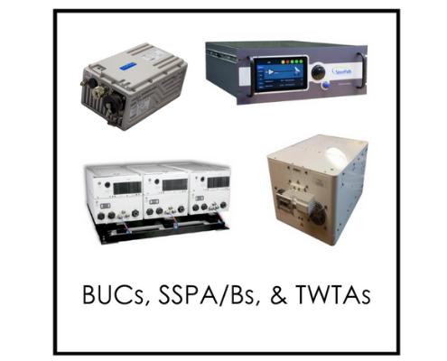 BUCs, SSPAs, TWTAs Category v2