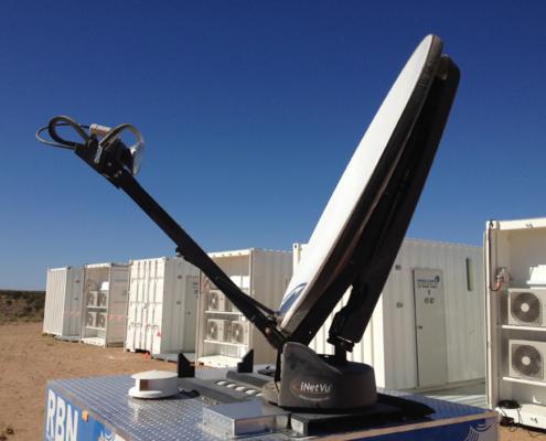 iNetVu 1200 Series Ku Band 1.2m Driveaway Antenna System