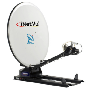 iNetVu 1200 Ku Band Driveaway Satellite Dish v2