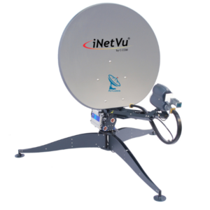 iNetVu FLY-981 Series 98cm Ku Band Flyaway Antenna System v2