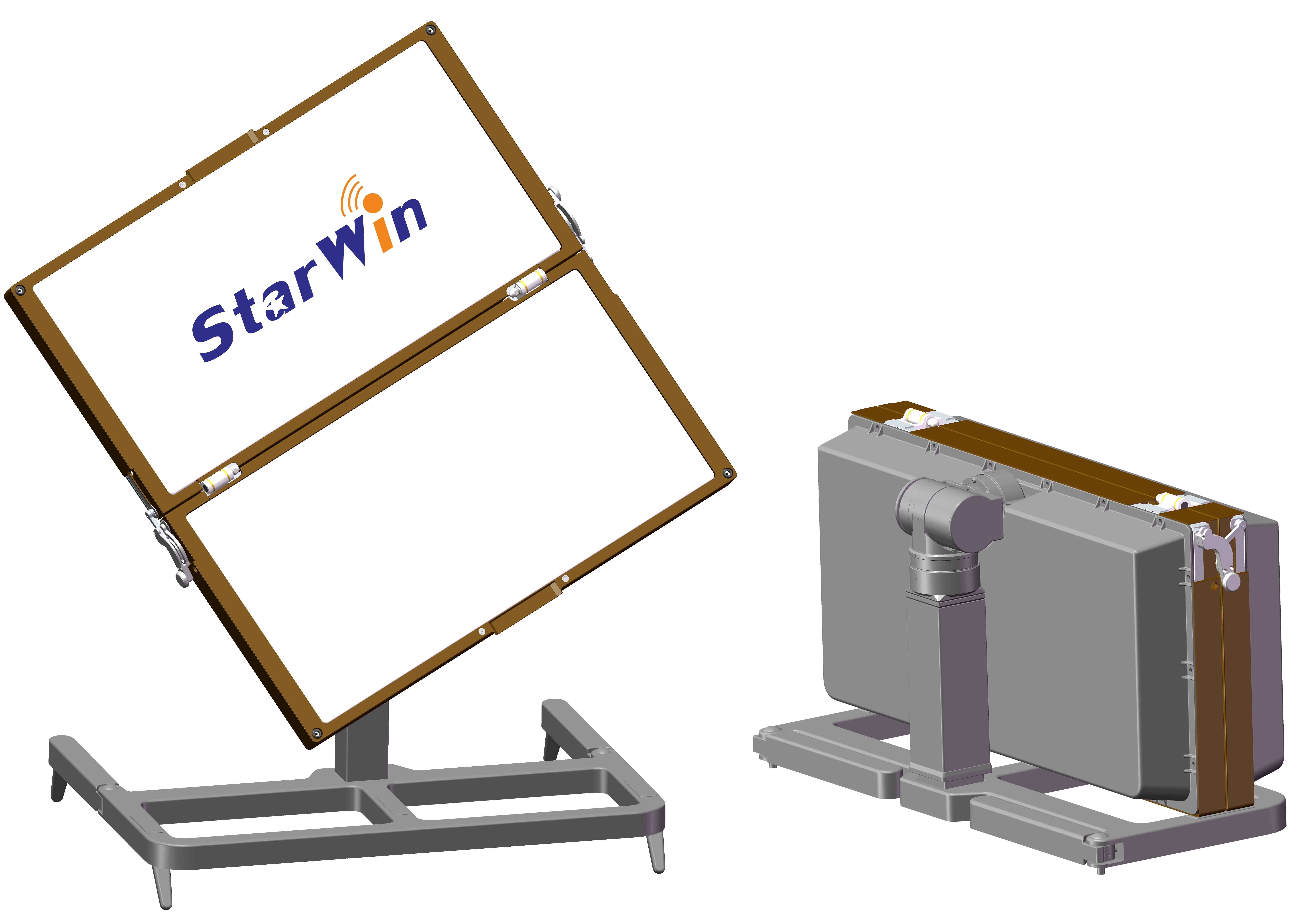 Starwin foldable Flat panel antenna